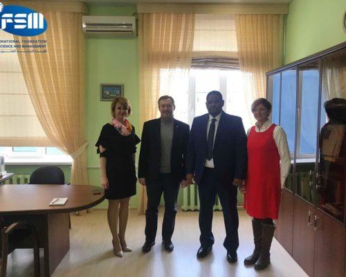 تعاقدنا مع جامعة استراخان للعمارة والبناء