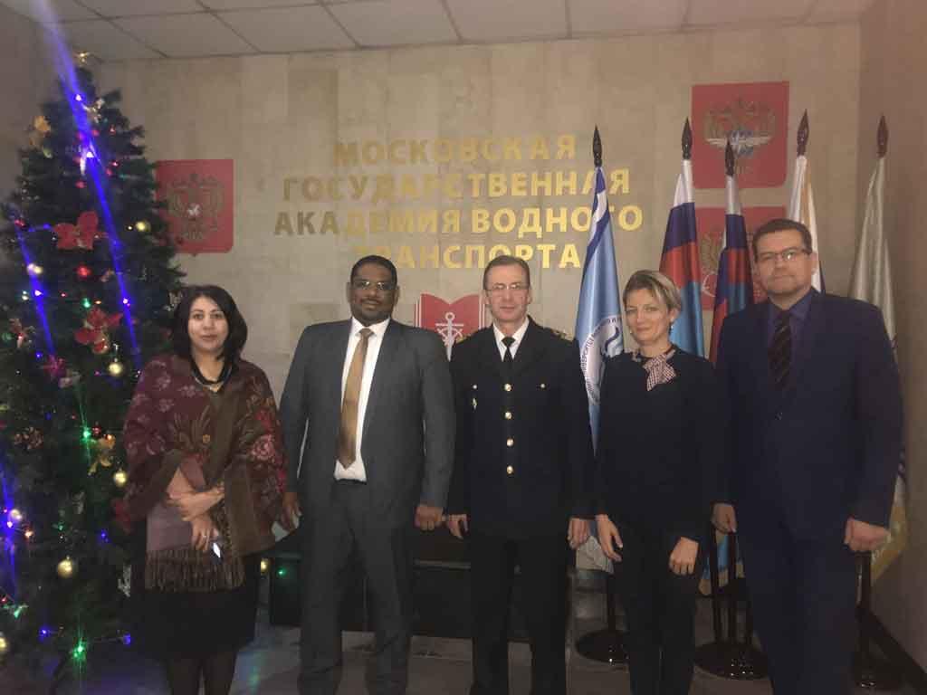 تعاقد-المؤسسة-الدولية-مع-اكاديمية-موسكو-للنقل-المائي-
