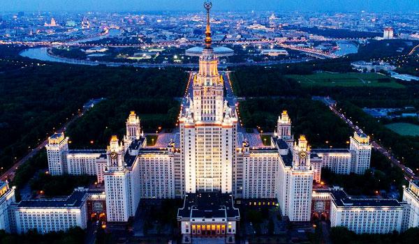 تعتبر روسيا احد اقدم المنابر العلمية تاريخيا وهي اكبر واجهة للتعليم الجامعي للطلاب الاجانب فهي أكبر دولة في العالم وتعتبر قارة منفصلة عن العالم فهي تحتل أكثر من ستة ملايين ميل من الأرض وتغطي روسيا كل شمال آسيا وتمتد لتسع مناطق زمنية مختلفة. ولقد تأسست جامعة موسكو الحكومية عام 1755ميلاديا والتي تعتبر من اضخم واعرق واقدم الجامعات في العالم وتفتخر كلية الفيزياء بجامعة موسكو الحكومية بحصول ثمانية من خريجيها على جائزة نوبل والمؤسسة الدولية للعلوم والادارة هي الوكيل الرسمي الوحيد لها في مصر والشرق الاوسط